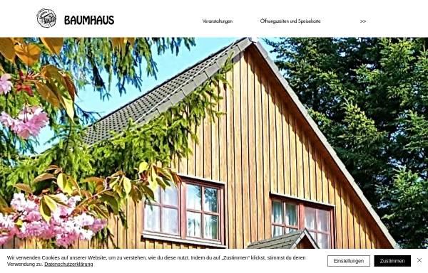 Vorschau von www.hotel-baumhaus.de, Hotel & Restaurant Baumhaus, Klein Pravtshagen