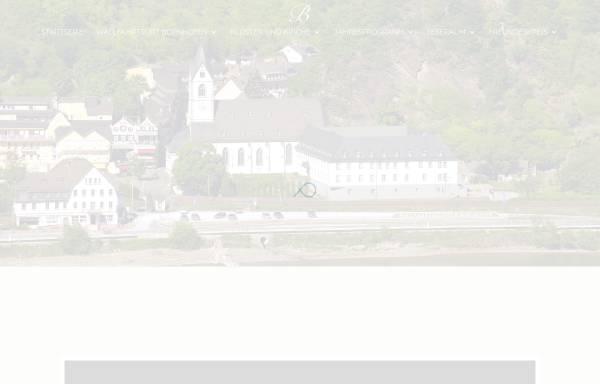 Vorschau von www.wallfahrtskloster-bornhofen.de, Franziskaner- und Wallfahrtskloster Bornhofen