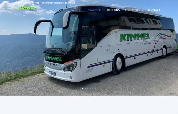 Vorschau von www.kimmel-reisen.de, Kimmel-Reisen