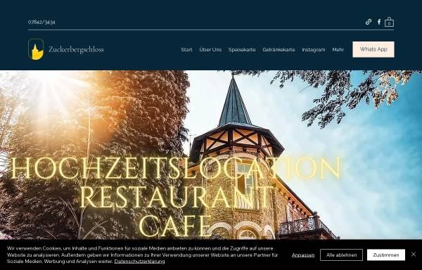 Vorschau von www.zuckerbergschloss.de, Zuckerbergschloß
