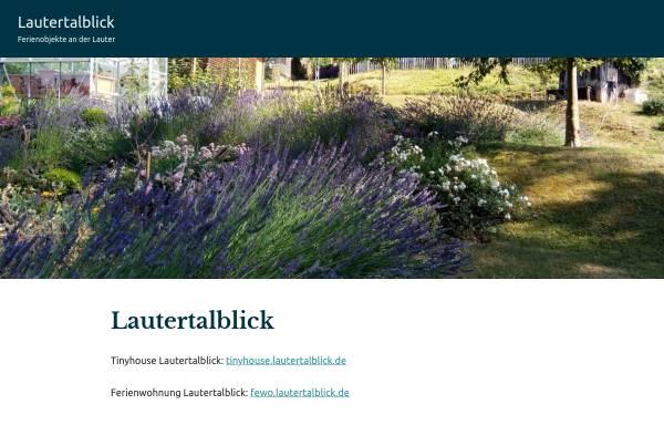 Vorschau von www.lautertalblick.de, Ferienwohnung Lautertalblick