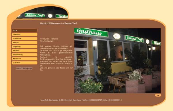 Vorschau von www.kenner-treff.de, Gaststätte-Pension Kenner Treff