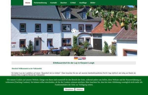 Vorschau von www.ferien-an-der-lay.de, Bauernhof an der Lay