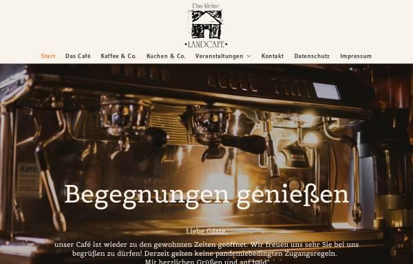 Vorschau von www.daskleinelandcafe.de, Das kleine Landcafé