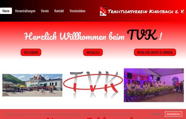 Vorschau von www.traditionsvereinkindsbach.de, Traditionsverein Kindsbach e.V.