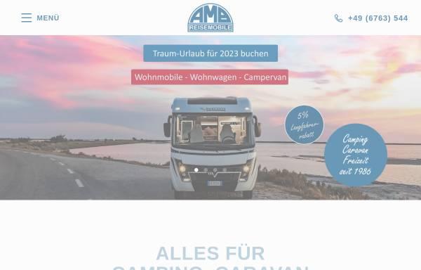 Vorschau von www.amb-reisemobile.com, AMB Reisemobile, Anne-Marie Böger