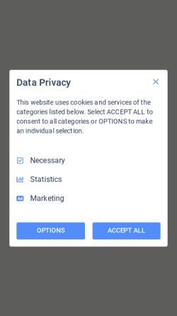 Vorschau der mobilen Webseite www.musikverein.at, Musikverein Kirchberg