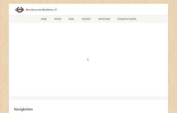 Vorschau von www.bv-kirchheim.de, Burschenverein Kirchheim