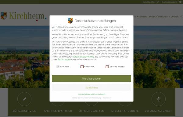 Vorschau von www.kirchheim-heimstetten.de, Gemeinde Kirchheim-Heimstetten