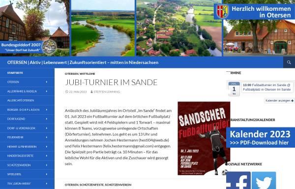 Vorschau von www.otersen.de, Otersen