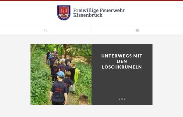 Vorschau von fw-kissenbrueck.de, Feuerwehr Kissenbrück