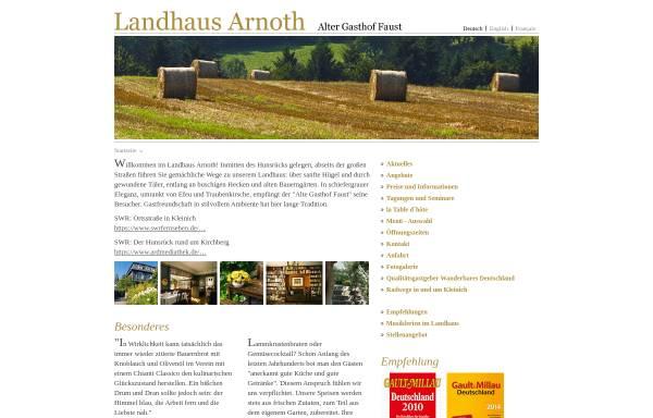 Vorschau von www.landhaus-arnoth.de, Landhaus Arnoth