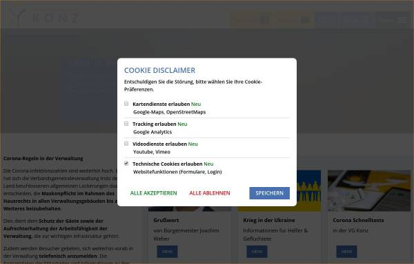 Vorschau von www.stadtbibliothek.konz.de, Stadtbibliothek Konz