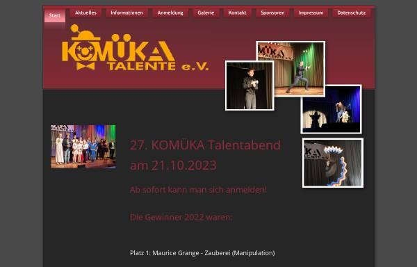 Vorschau von www.komueka.de, Komüka Talente e.V