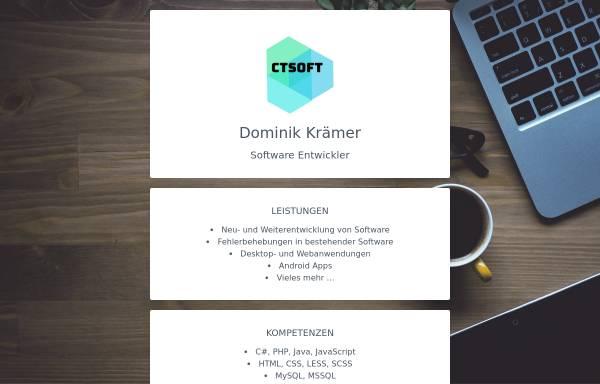 Vorschau von www.ctsoft.de, CT Soft