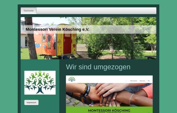 Vorschau von www.montessori-koesching.de, Montessori-Verein Kösching e. V.
