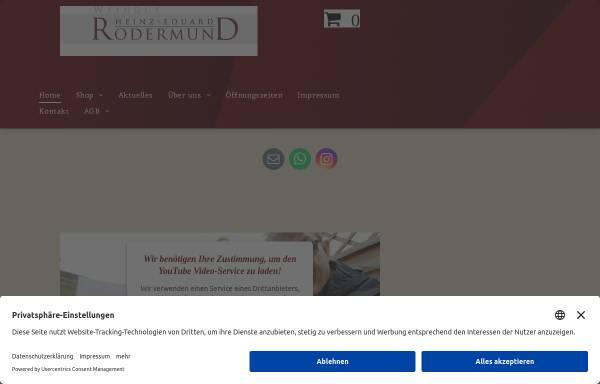 Vorschau von www.rodermundwein.de, Weingut Heinz-Eduard Rodermund - Vino-Mundi