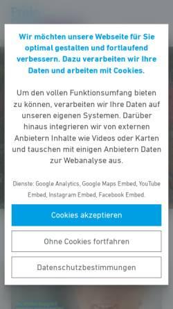 Vorschau der mobilen Webseite www.fdp-kronberg.de, FDP Kronberg im Taunus