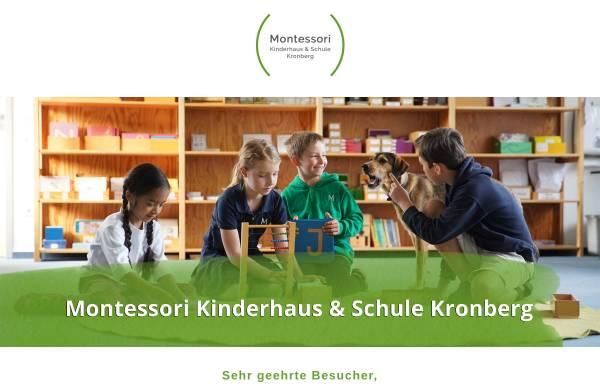 Vorschau von www.montessori-kronberg.de, Montessori-Schule und Kinderhaus Kronberg