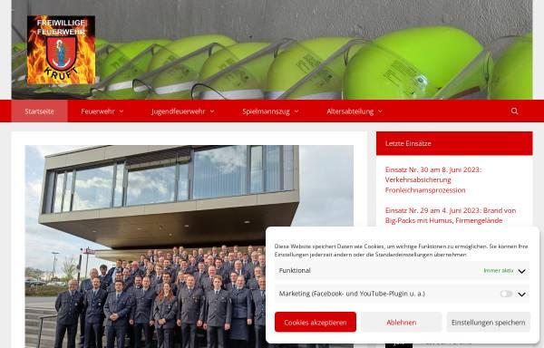 Freiwillige Feuerwehr Kruft Kruft Stadte Und Gemeinden Feuerwehr
