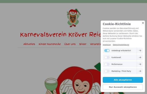 Vorschau von www.reichsnarren.de, Kroever-Reichsnarren