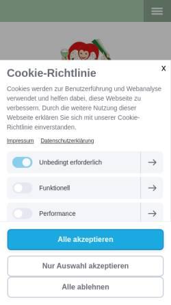 Vorschau der mobilen Webseite www.reichsnarren.de, Kroever-Reichsnarren