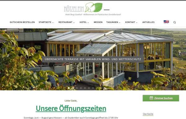 Vorschau von www.berg-gasthof.de, Berg-Gasthof Hötzelein