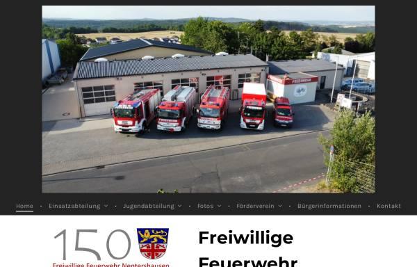 Vorschau von www.feuerwehr-nentershausen.de, Freiwillige Feuerwehr Nentershausen