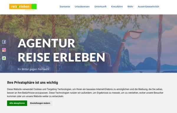 Vorschau von www.reise-erleben.de, Reise Erleben - Hildegunde Meyer-Tombült