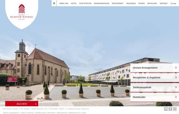 Vorschau von www.hotel-kloster-haydau.de, Kloster Haydau