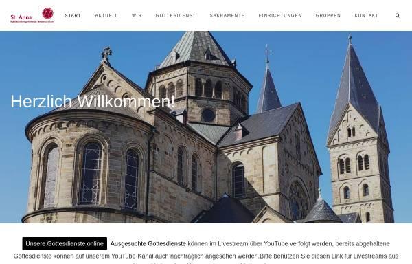 Vorschau von st-anna-neuenkirchen.de, St. Anna Neuenkirchen