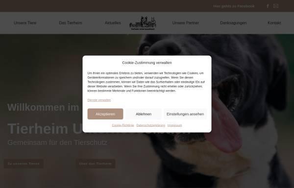 Vorschau von www.tierheim-nea.de, Tierschutzverein Neustadt/Aisch und Umgebung e.V.