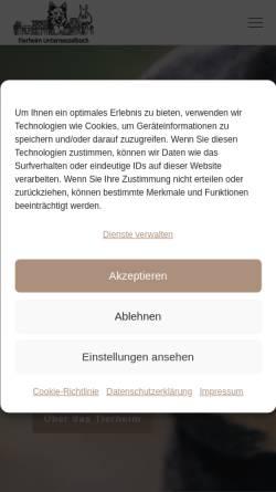 Vorschau der mobilen Webseite www.tierheim-nea.de, Tierschutzverein Neustadt/Aisch und Umgebung e.V.