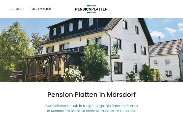 Vorschau von www.pension-platten.de, Pension Platten