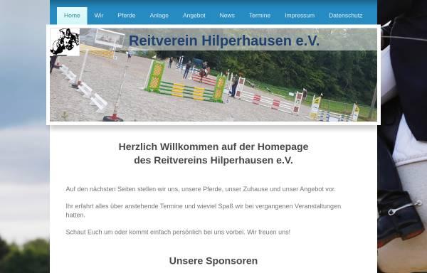Vorschau von www.reitverein-hilperhausen.de, Reitverein Hilperhausen e.V.