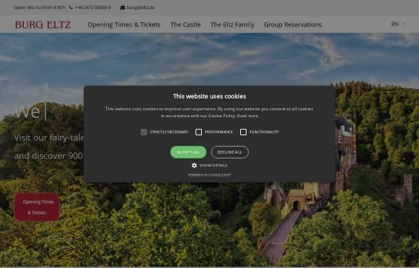 Vorschau von www.burg-eltz.de, Burg Eltz