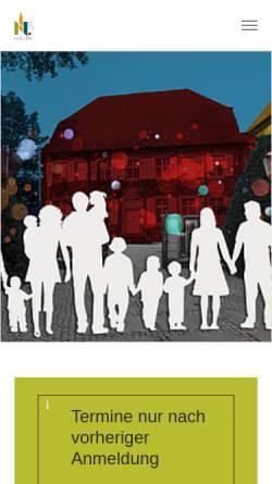 Vorschau der mobilen Webseite www.nottuln.de, Gemeinde Nottuln