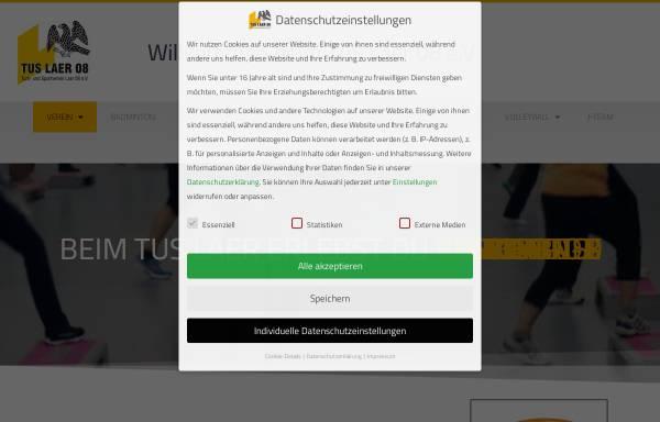 Vorschau von www.tuslaer08.de, Turn- und Sportverein Laer 08 e.V.