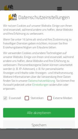 Vorschau der mobilen Webseite www.tuslaer08.de, Turn- und Sportverein Laer 08 e.V.