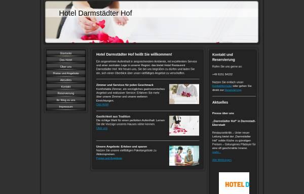 Vorschau von www.darmstaedter-hof.eu, Hotel Darmstädter Hof