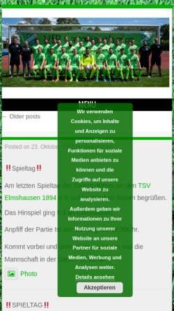 Vorschau der mobilen Webseite www.vfb-lampertheim.de, VfB Lampertheim 1948 e.V.