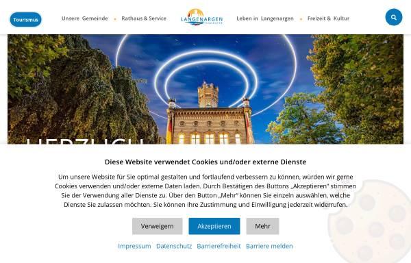 Vorschau von www.langenargen.de, Gemeinde Langenargen