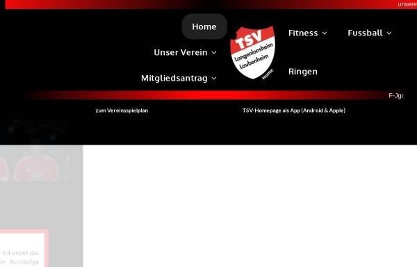 Vorschau von www.tsv-langenlonsheim-laubenheim.de, TSV Langenlonsheim/Laubenheim