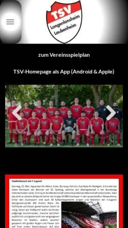Vorschau der mobilen Webseite www.tsv-langenlonsheim-laubenheim.de, TSV Langenlonsheim/Laubenheim