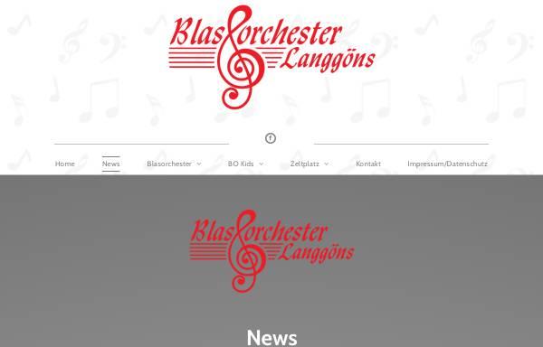 Vorschau von www.blasorchester-langgoens.de, Blasorchester Lang-Göns e.V.