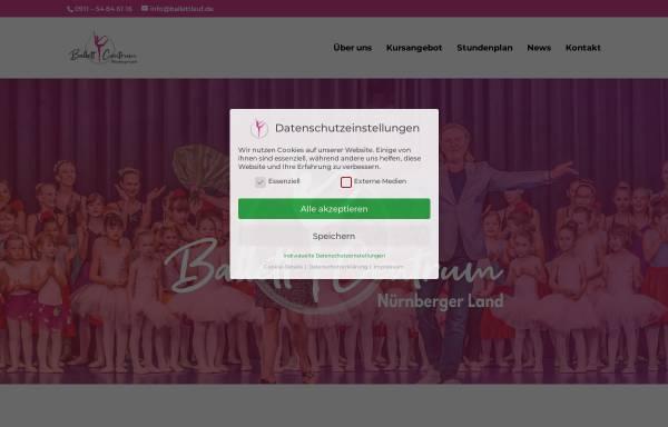 Vorschau von www.ballettlauf.de, Ballett Centrum Lauf