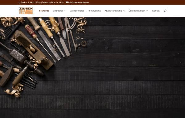 Vorschau von www.zweck-holzbau.de, Zweck Holzbau GmbH