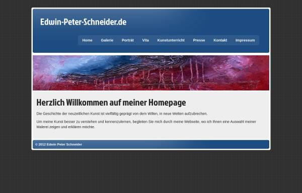 Vorschau von www.edwin-peter-schneider.de, Schneider, Edwin Peter