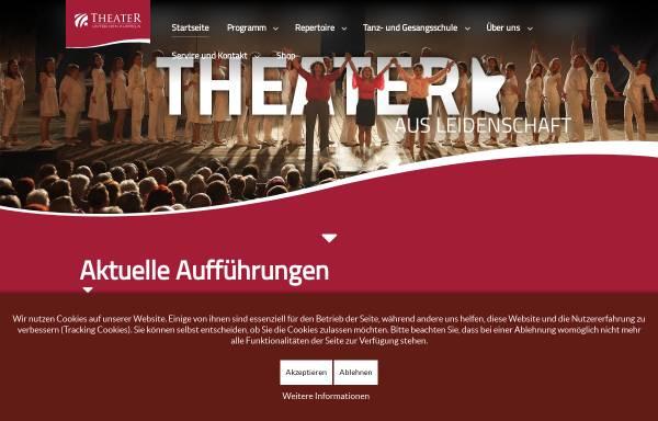 Vorschau von www.tudk.de, Theater unter den Kuppeln