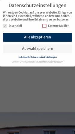 Vorschau der mobilen Webseite www.tiemanns-hotel.de, Tiemanns Hotel